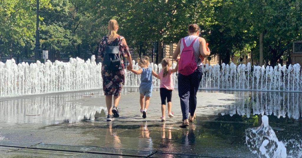 Budapest kisgyerekkel